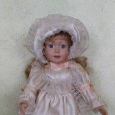 Muñecas Porcelana: MUÑECA DE PORCELANA , MEDIDA 40 CM,. Lote 170877255