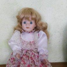 Muñecas Porcelana: MUÑECA DE PORCELANA , MEDIDA 40 CM,. Lote 170877860