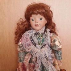 Muñecas Porcelana: MUÑECA ALEMANA. AÑOS 70. CARITA DE PORCELANA.. Lote 170956950