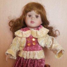 Muñecas Porcelana: MUÑECA ALEMANA. AÑOS 70. CARITA DE PORCELANA.. Lote 170957664