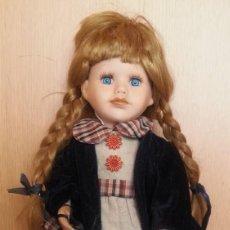 Muñecas Porcelana: MUÑECA ALEMANA. AÑOS 70. CARITA DE PORCELANA.. Lote 171032735