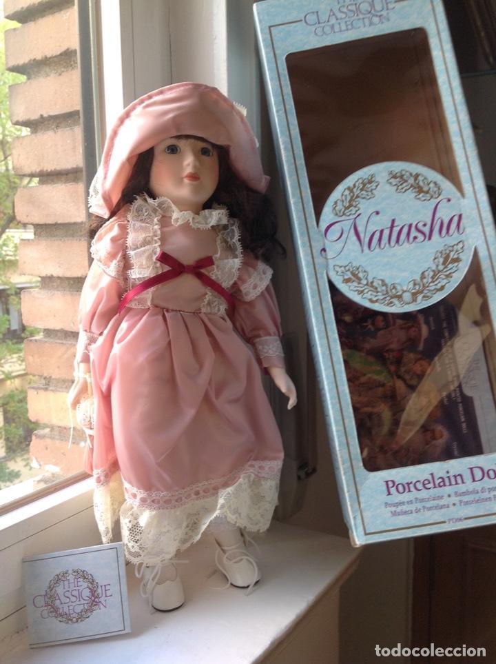 Muñecas Porcelana: Muñeca de porcelana, en su caja de origen. Nueva. - Foto 2 - 171209717