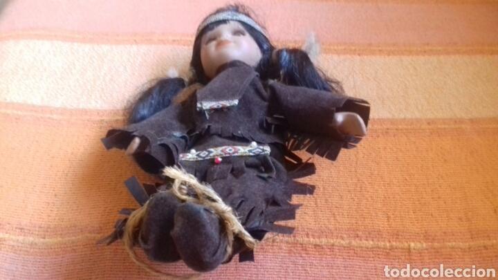 Muñecas Porcelana: MUÑECA INDIA DE PORCELANA 20 CM. - Foto 2 - 171447988