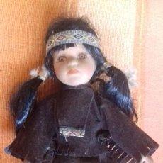Muñecas Porcelana: MUÑECA INDIA DE PORCELANA 20 CM.. Lote 171447988