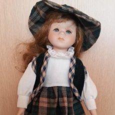 Muñecas Porcelana: MUÑECA ALEMANA. AÑOS 70. CARITA DE PORCELANA.. Lote 171605859