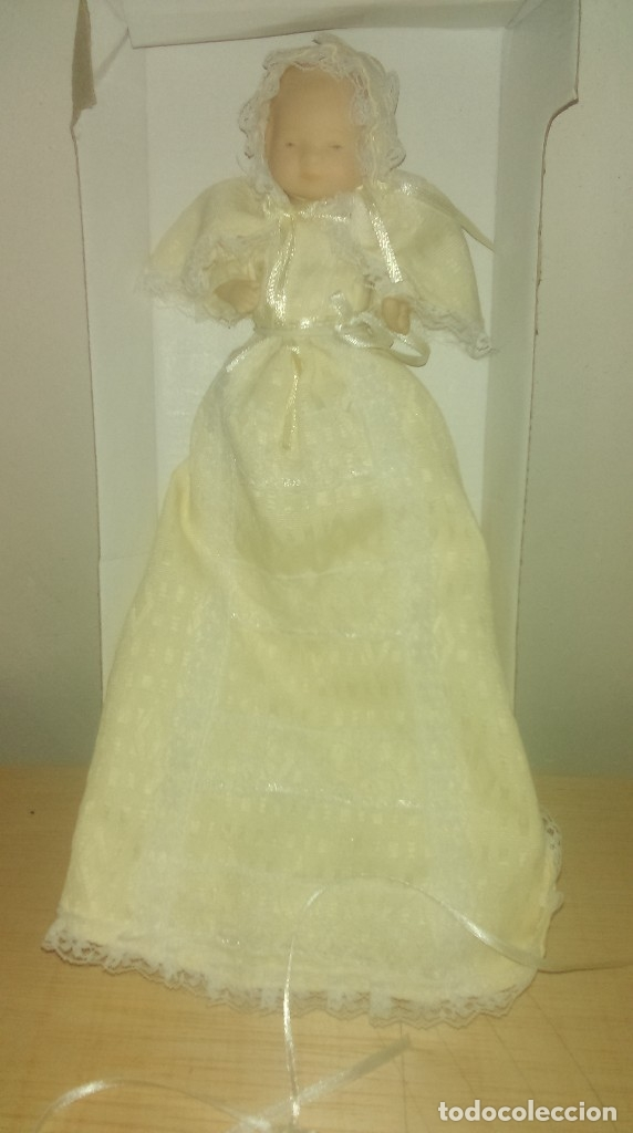 Muñecas Porcelana: Bebe de porcelana articulado, coleccion. - Foto 2 - 171793360