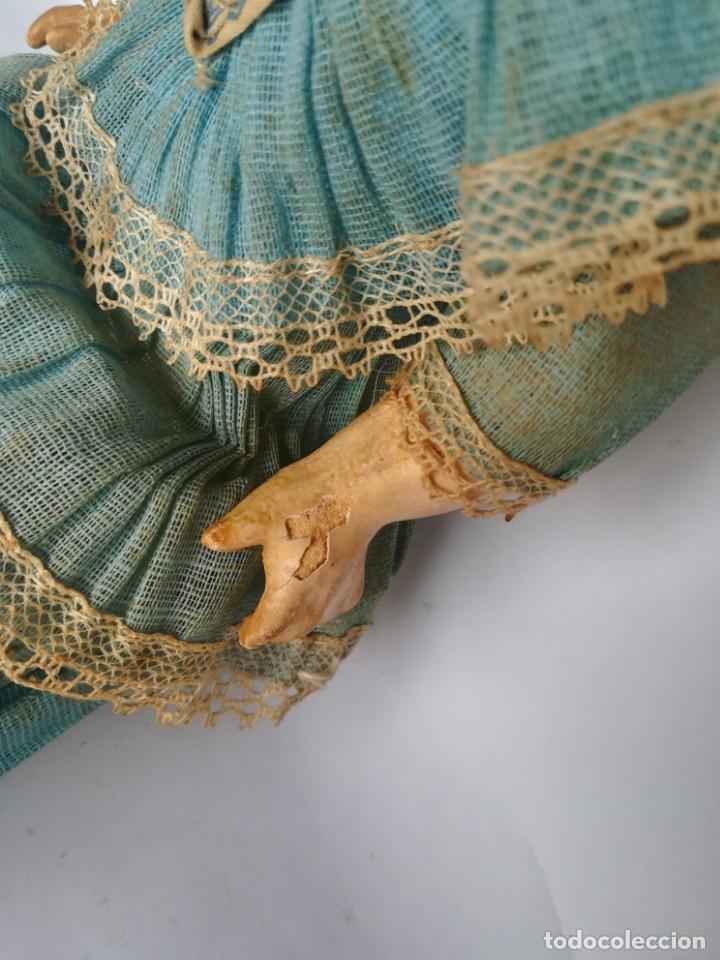 Muñecas Porcelana: MUÑECA PORCELANA Y COMPOSICIÓN TIPO FLEISCHMANN CON ROPA ORIGINAL Y CAJA - Foto 7 - 172020407