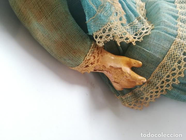 Muñecas Porcelana: MUÑECA PORCELANA Y COMPOSICIÓN TIPO FLEISCHMANN CON ROPA ORIGINAL Y CAJA - Foto 8 - 172020407