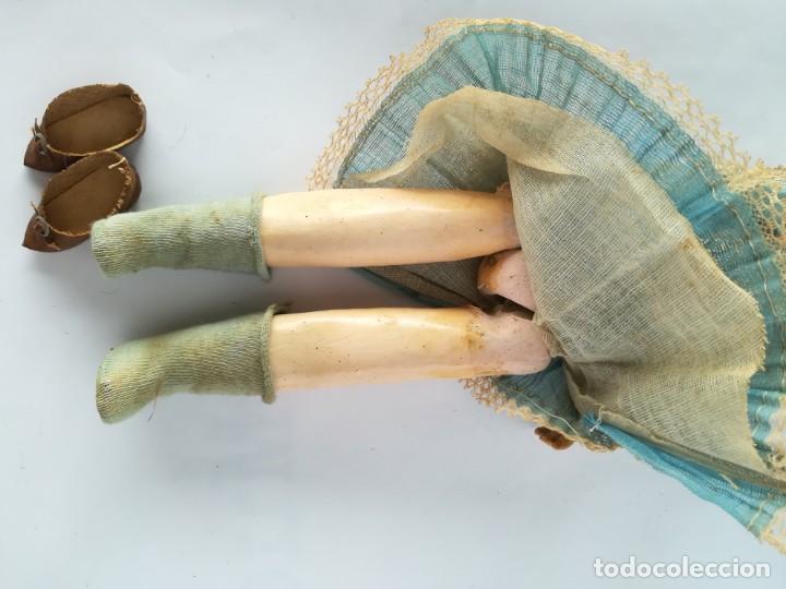 Muñecas Porcelana: MUÑECA PORCELANA Y COMPOSICIÓN TIPO FLEISCHMANN CON ROPA ORIGINAL Y CAJA - Foto 12 - 172020407