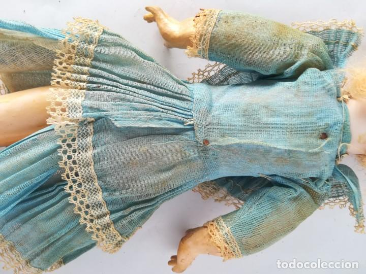 Muñecas Porcelana: MUÑECA PORCELANA Y COMPOSICIÓN TIPO FLEISCHMANN CON ROPA ORIGINAL Y CAJA - Foto 14 - 172020407