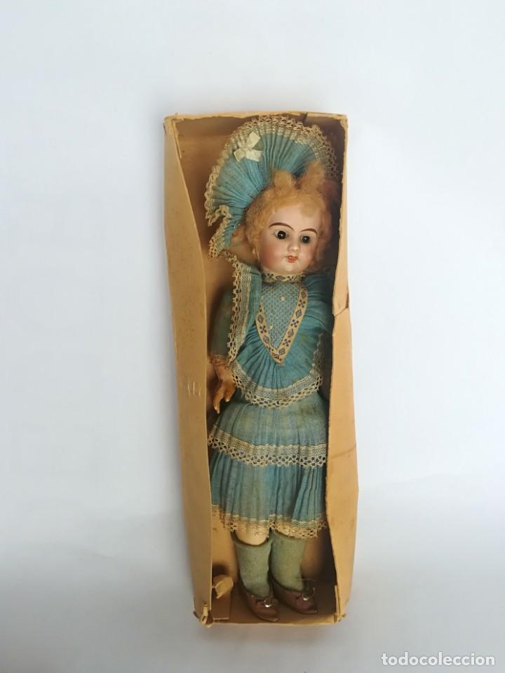 Muñecas Porcelana: MUÑECA PORCELANA Y COMPOSICIÓN TIPO FLEISCHMANN CON ROPA ORIGINAL Y CAJA - Foto 15 - 172020407