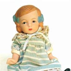 Muñecas Porcelana: MUÑECA ALEMANA PORCELANA REPRODUCCIÓN. Lote 172077944