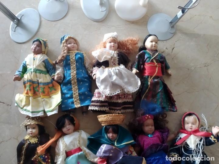 Muñecas Porcelana: Lote muñecas porcelana - Foto 3 - 172196009