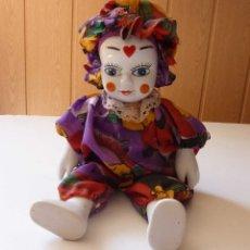 Muñecas Porcelana: VINTAGE BUDUARNAYA MUÑECA DE PORCELANA O CERAMICA . Lote 173754412