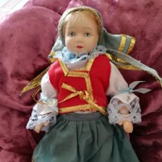 Muñecas Porcelana: MUÑECA CERÁMICA TÍPICA PAISES. Lote 175862407