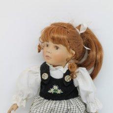 Muñecas Porcelana: MUÑECA PORCELANA ROTHKIRCH PUPPE MRM RO 38 CM ALEMANIA GERMANY DOLL JUGUETE. Lote 175928933