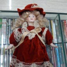 Muñecas Porcelana: MUÑECA PORCELANA. Lote 176247615