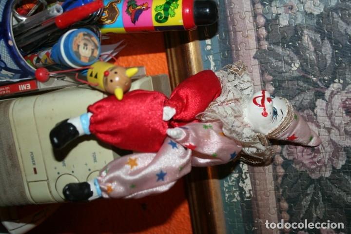Muñecas Porcelana: dos payasos de porcelana - Foto 2 - 176379645