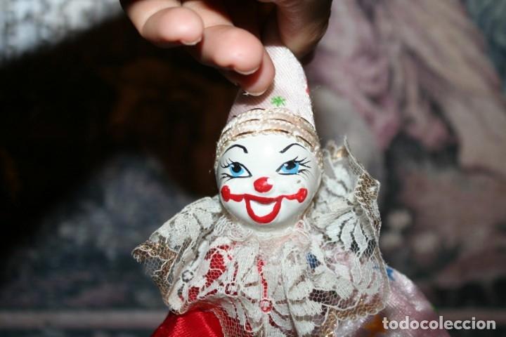 Muñecas Porcelana: dos payasos de porcelana - Foto 4 - 176379645