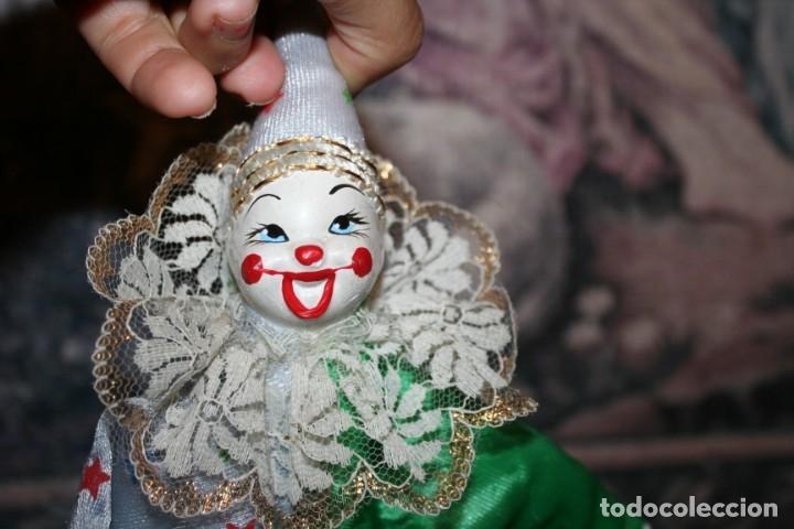 Muñecas Porcelana: dos payasos de porcelana - Foto 7 - 176379645