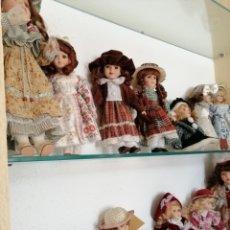 Muñecas Porcelana: MUÑECAS ANTIGUAS. Lote 177196424