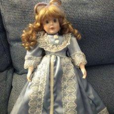 Muñecas Porcelana: MUÑECA PORCELANA O CERÁMICA 40CM APROX.. Lote 177949202