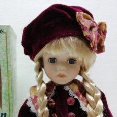 Muñecas Porcelana: MUÑECA PORCELANA COLECCIÓN 40CM AÑOS 90 ALMACÉN. Lote 178069583