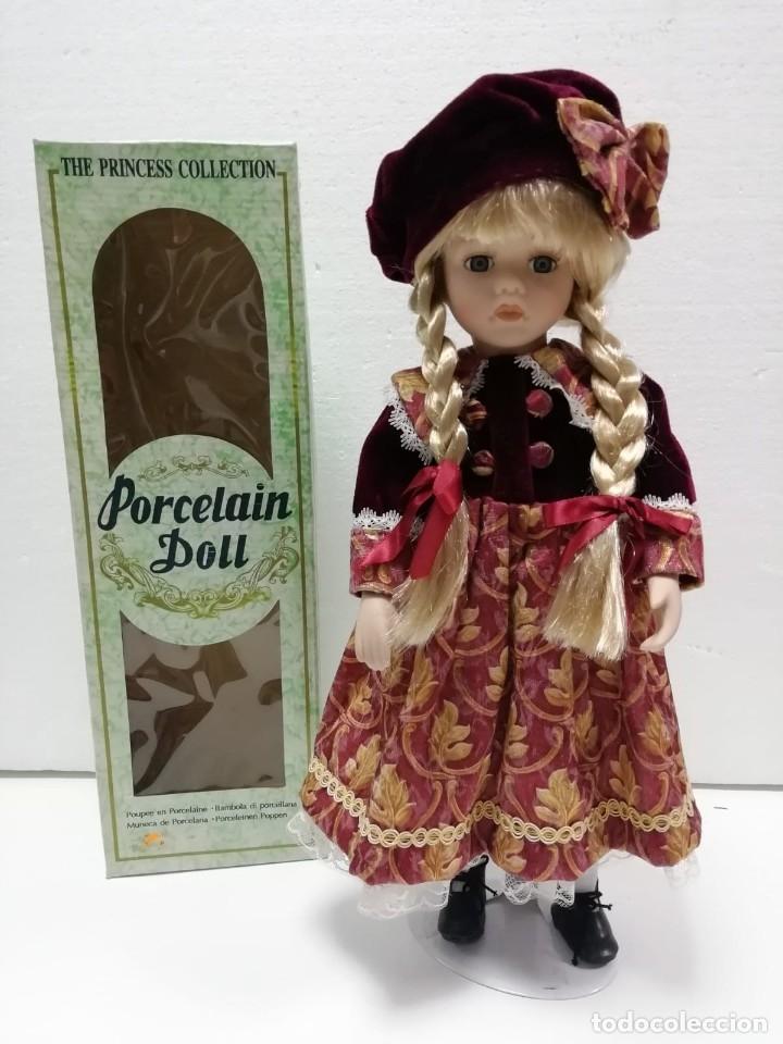Muñecas Porcelana: MUÑECA PORCELANA COLECCIÓN 40CM AÑOS 90 ALMACÉN - Foto 3 - 178069583