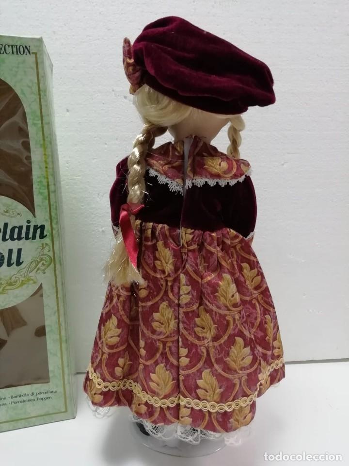Muñecas Porcelana: MUÑECA PORCELANA COLECCIÓN 40CM AÑOS 90 ALMACÉN - Foto 4 - 178069583