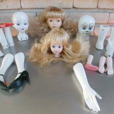 Muñecas Porcelana: PORCELANA-LOTE DE 18 PIEZAS,BUEN ESTADO. Lote 178714957