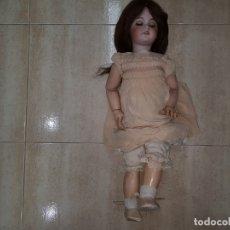 Muñecas Porcelana: MUÑECA ANTIGUA PRINCIPIOS SIGLO XX GRAN TAMAÑO PORCELANA VEALA. Lote 218573388