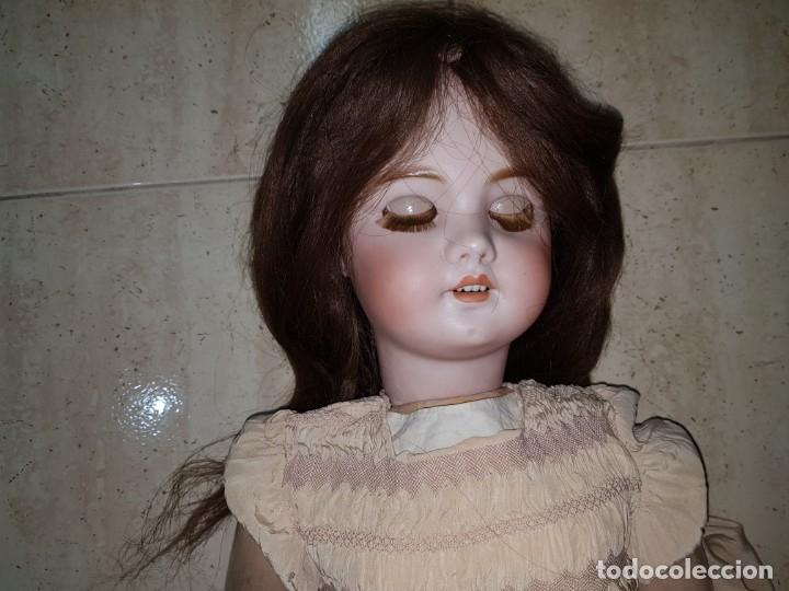 Muñecas Porcelana: MUÑECA ANTIGUA PRINCIPIOS SIGLO XX GRAN TAMAÑO PORCELANA VEALA - Foto 2 - 178968836