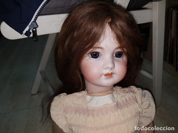 Muñecas Porcelana: MUÑECA ANTIGUA PRINCIPIOS SIGLO XX GRAN TAMAÑO PORCELANA VEALA - Foto 5 - 178968836