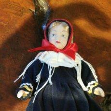 Muñecas Porcelana: MUÑECA REGIONAL DE PORCELANA 22 CM. Lote 180033172