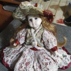 Muñecas Porcelana: MUÑEQUITA PORCELANA,MEDIEVAL. Lote 180403586