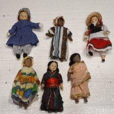 Muñecas Porcelana: LOTE DE 6 MUÑECAS DE PORCELANA. Lote 181072898