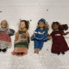 Muñecas Porcelana: LOTE DE 4 MUÑECAS DE PORCELANA. Lote 181073062