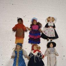 Muñecas Porcelana: LOTE DE 8 MUÑECAS DE PORCELANA. Lote 181073265