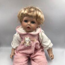 Muñecas Porcelana: MUÑECO DE PORCELANA SIN MARCAR. Lote 182375770