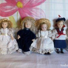 Muñecas Porcelana: LOTE 5 MUÑECAS PORCELANA-15 CM. Lote 182813713