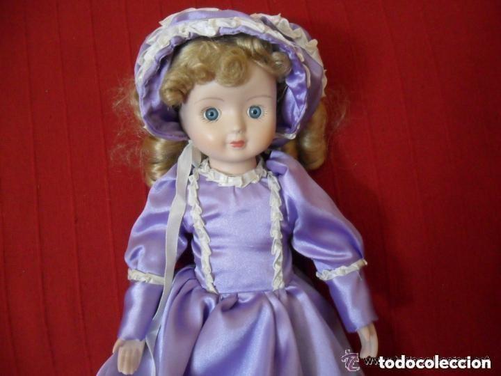 Muñecas Porcelana: MUÑECA DE PORCELANA CON VESTIDO CLÁSICO - Foto 3 - 183738160
