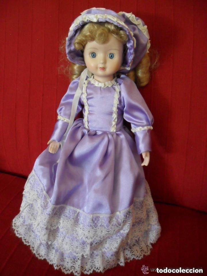 Muñecas Porcelana: MUÑECA DE PORCELANA CON VESTIDO CLÁSICO - Foto 4 - 183738160