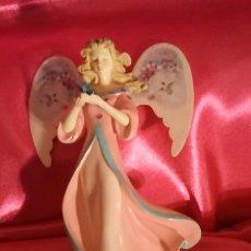 Muñecas Porcelana: 2 ANGEL.ANGELES. PIEZAS NUEVAS.CALIDAD.MARCADAS..NAVIDAD..COMUNIÓN.. Lote 184148266