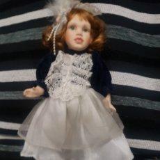 Muñecas Porcelana: PRECIOSA MUÑECA PORCELANA NUMERADA. Lote 184227491