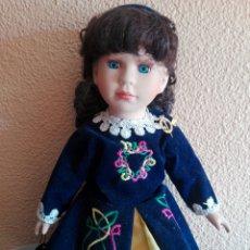 Muñecas Porcelana: PRECIOSA MUÑECA DE PORCELANA IRISH HERITAGE DOLL, IRLANDESA, VESTIDO VÁLIDO NANCY 39 CM. Lote 184699921