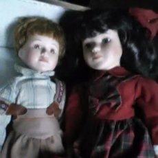 Muñecas Porcelana: PAREJA PORCELANA. Lote 184983025