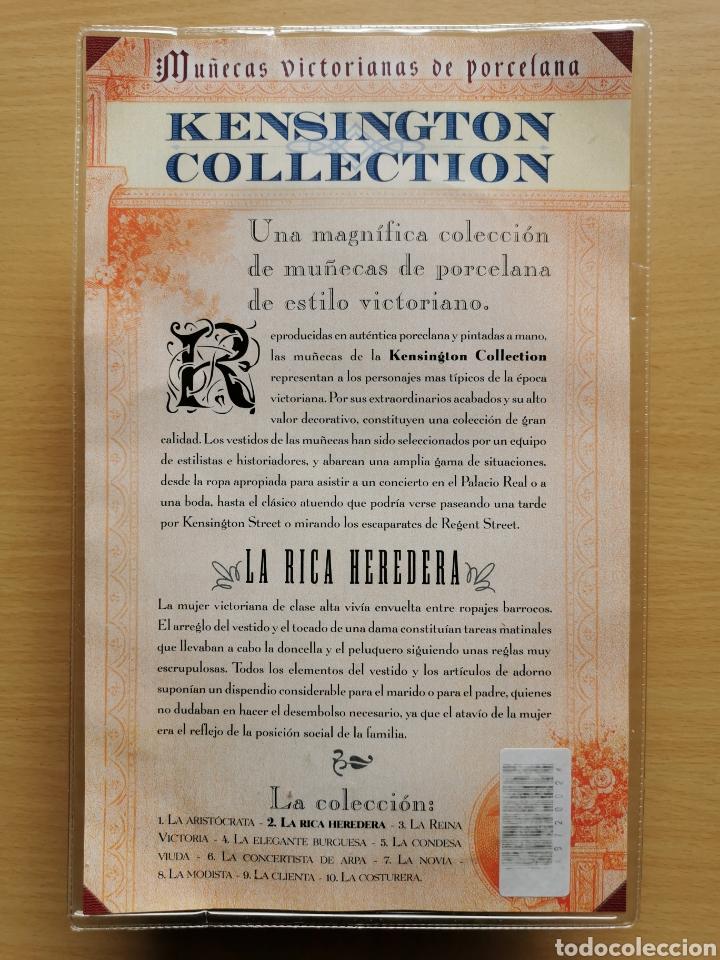 Muñecas Porcelana: MUÑECA PORCELANA VICTORIANA KENSINGTON COLLECTION N° 2 LA RICA HEREDERA - Foto 2 - 186095135