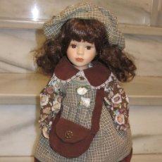 Muñecas Porcelana: MUÑECA PORCELANA. 42CM.. Lote 186252631