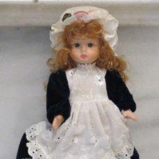 Muñecas Porcelana: MUÑECA PORCELANA. 19CM.. Lote 186257172