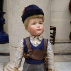 Muñecas Porcelana: MUÑECO DE PORCELANA 55 CM. Lote 187415265